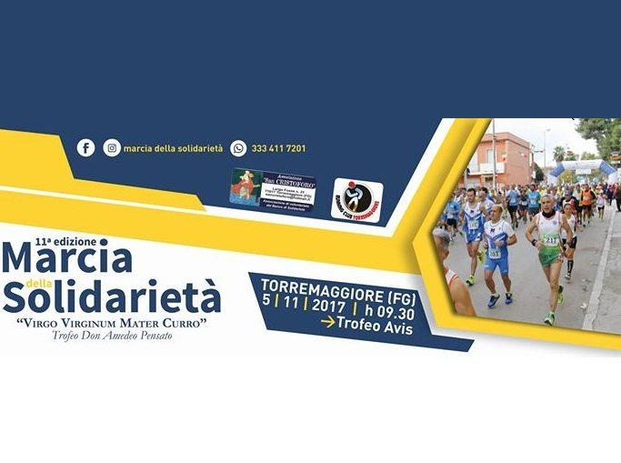Marcia della Solidarietà,  domenica 5 novembre 2017 la gara a Torremaggiore