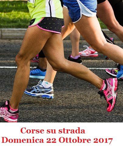 Ecco il programma delle maggiori corse su strada di Domenica 22 Ottobre 2017
