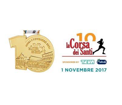 10^ Corsa dei Santi a Roma il 1° novembre 2017