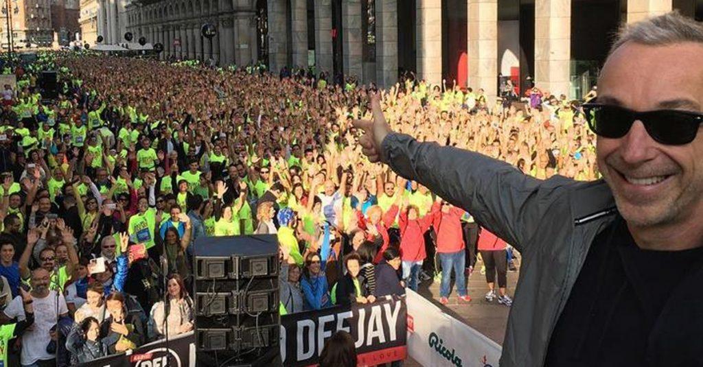 Risultati Deejay Ten Milano: grande partecipazione in una gara quest'anno non competitiva