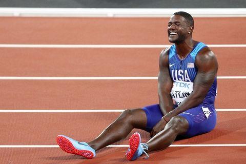 Gatlin buttato fuori dai candidati a miglior atleta mondiale del 2017
