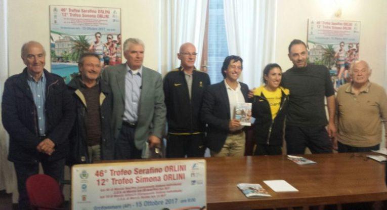 Antonella Palmisano madrina dei Campionati Italiani di Marcia a Grottammare (AP)