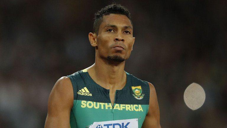 Wayde van Niekerk crack al ginocchio, stop di circa sei mesi