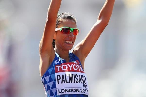 Antonella Palmisano racconta il suo 2017 sul sito della IAAF