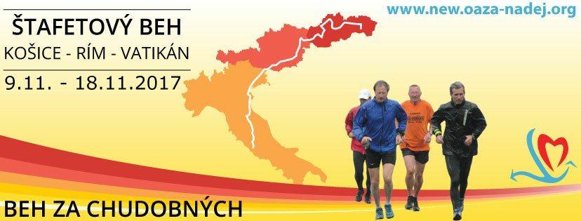 Peter Gombita di corsa per i poveri da Kosice (Slovakia) a Città del Vaticano- di  Matteo SIMONE