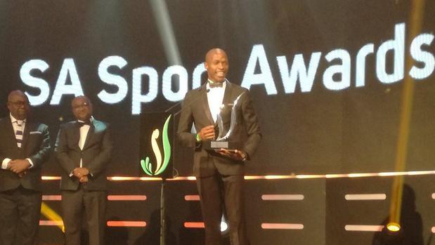 Luvo Manyonga, campione del Mondo di salto in lungo  eletto miglior atleta del Sudafrica