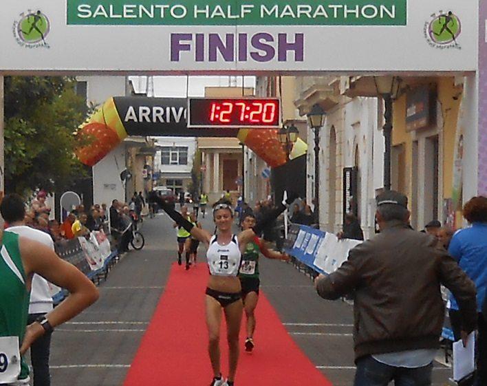 Risultati Salento Half Marathon: vittorie di Christian Villazala e Paola Bernardo
