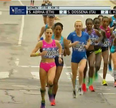 Sara Dossena ottimo 6° posto all'esordio nella Maratona di New York