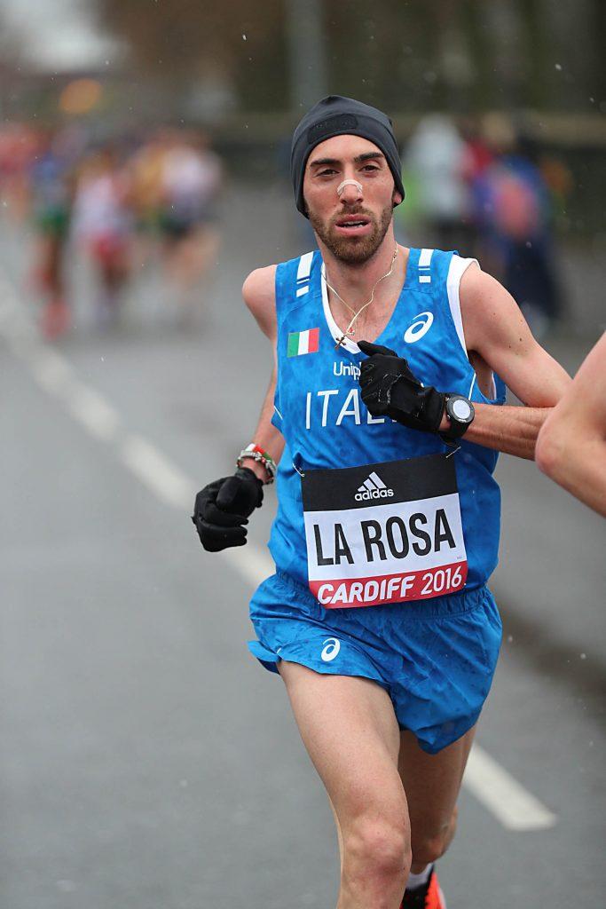 Stefano La Rosa domani alla 25km di Calcutta