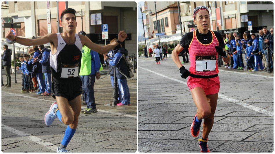 Claudia Pinna e Salvatore Mei vincono la Mezza Maratona Città di Olbia
