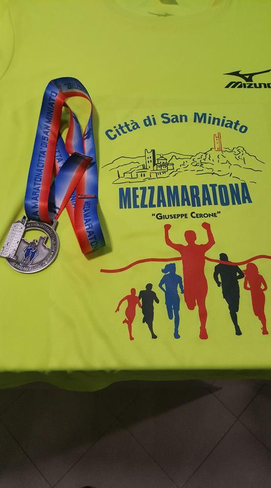Domani la VII Mezza Maratona Citta' di San Miniato