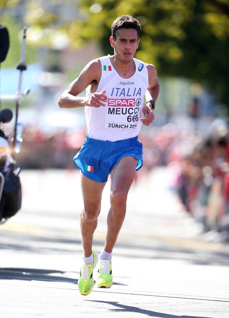 Daniele Meucci e Sara Dossena oggi pomeriggio alla We Run Rome