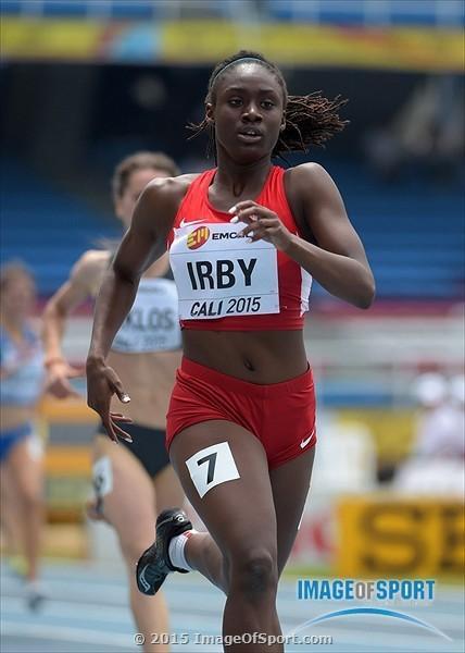 Nei 200 metri la diciannovenne Lynna Irby,  miglior crono mondiale in 22.96-IL VIDEO