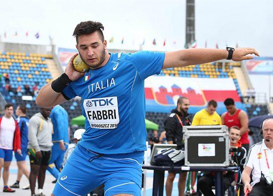 Leonardo Fabbri migliora ancora il record italiano U 23 a Padova, 19,95 al quinto lancio
