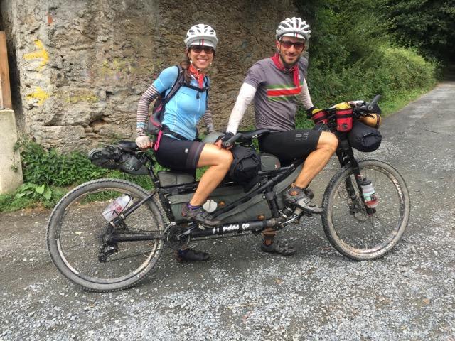Palas e Vito in mountain bike sul Cammino di Santiago- di Matteo SIMONE