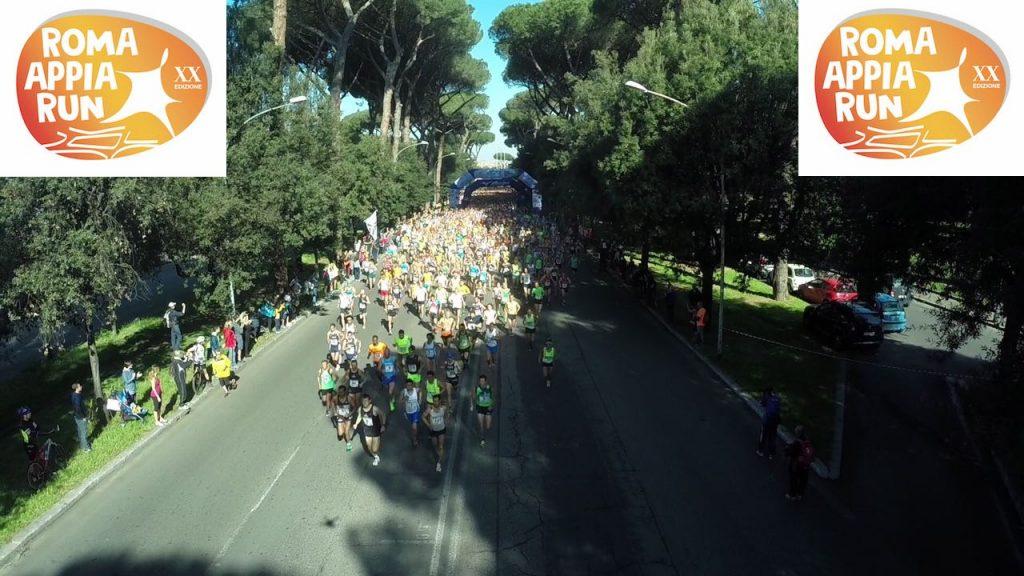 """Già 2000 iscritti a 3 mesi dalla ROMA APPIA RUN del """"Ventennale"""""""