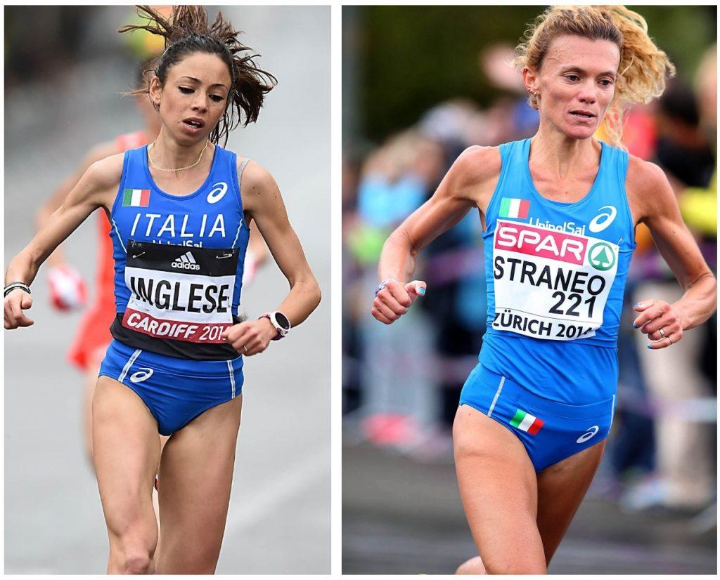 Raduni 2018: Veronica Inglese e Valeria Straneo guidano le azzurre del mezzofondo e maratona