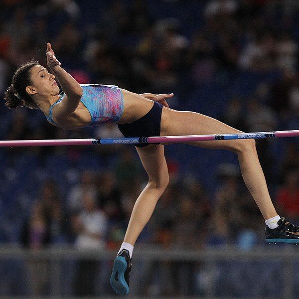 Mariya Lasitskene vola a m. 2,01 nel salto in alto a Mosca