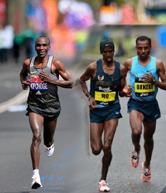 Kipchoge-Farah-Bekele: confermato il trio stellare della London Marathon 2018