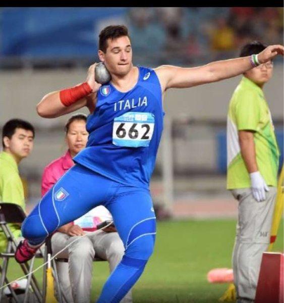 Leonardo Fabbri torna a Padova dopo aver sfiorato i 20 metri nel peso