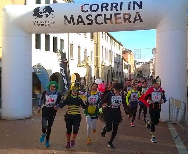 Corri in Maschera, domenica 11 febbraio a Mestre