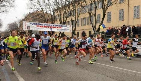 44esima  Corrida di San Geminiano, Mercoledì 31 gennaio la gara internazionale sui km 13,350.
