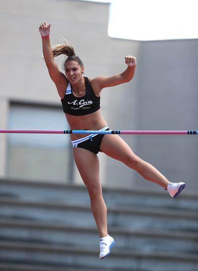 Elisa Molinarolo ottimo  4,35 nell'asta a Padova