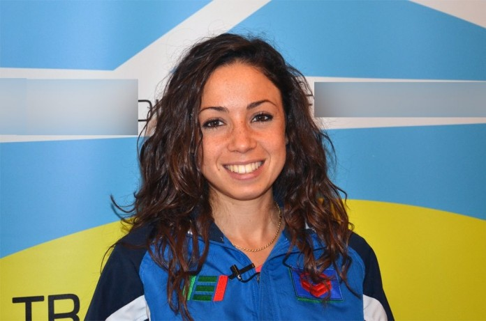 Veronica Inglese testimonial nella Festa dell'atletica pugliese
