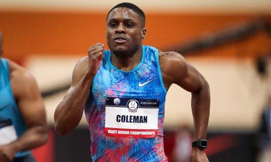 Christian Coleman scatenato! record del mondo nei 60 metri