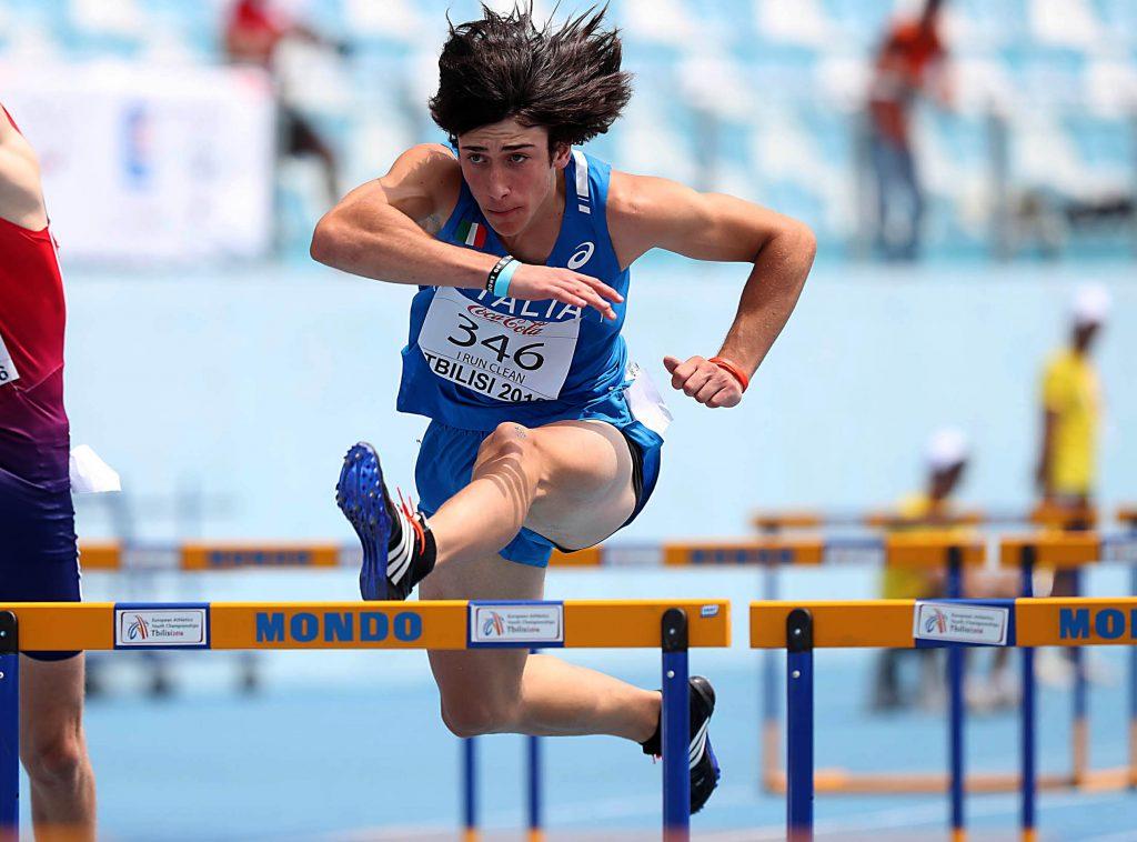 Tricolori junior Ancona: record italiano di Mattia Montini nei 60 ostacoli in semifinale, alle 14.40 la finale in Diretta streaming