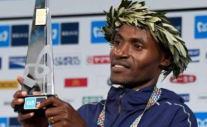 Dickson CHUMBA e Birhane DIBABA vincono la Tokyo Marathon 2018