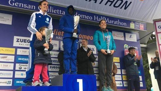Anna Incerti brilla alla Giulietta e Romeo Half Marathon