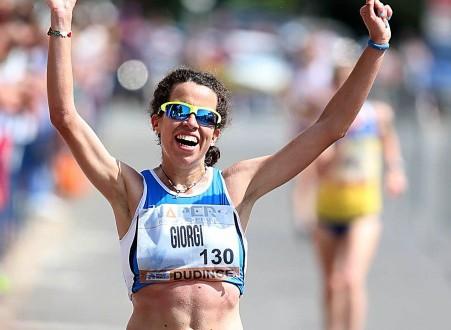 Eleonra Giorgi esordio vincente  a Lugano nella 20 Km