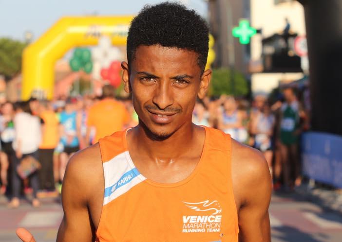 Record personale sulla mezza maratona per Eyob Faniel