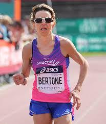 Catherine Bertone seconda alla Mezza di Torino
