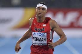Doppio record mondiale per Micheal Norman, 400m e 4x400