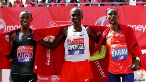 Eliud Kipchoge grande vittoria alla London Marathon