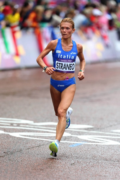 Valeria Straneo in raduno a Tirrenia insieme a Catherine Bertone