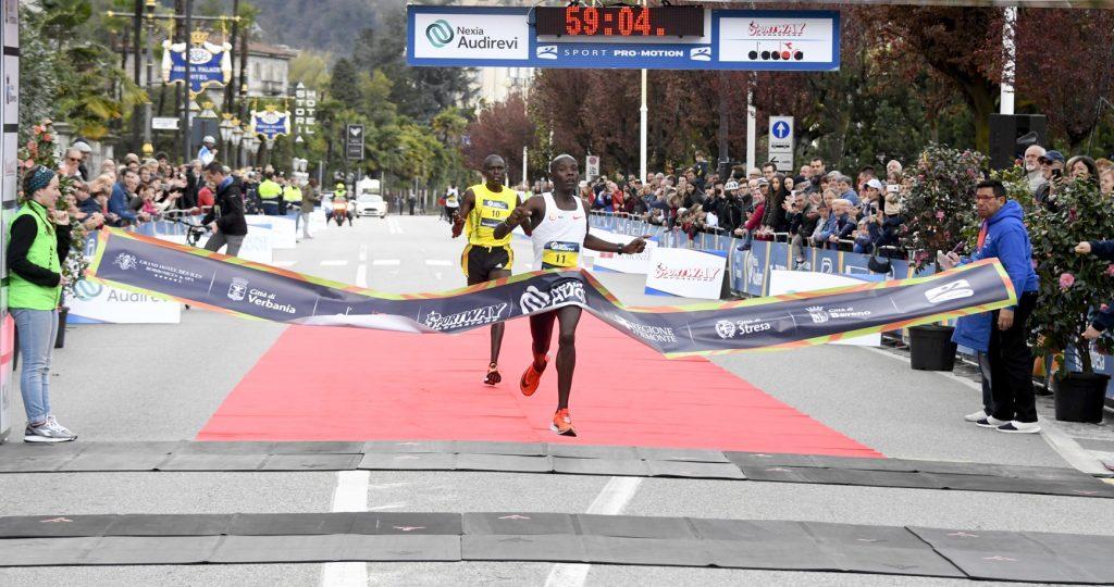 Grande spettacolo nella Lago Maggiore Half Marathon