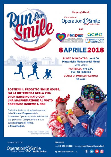 Locandina Run for Smile 2018