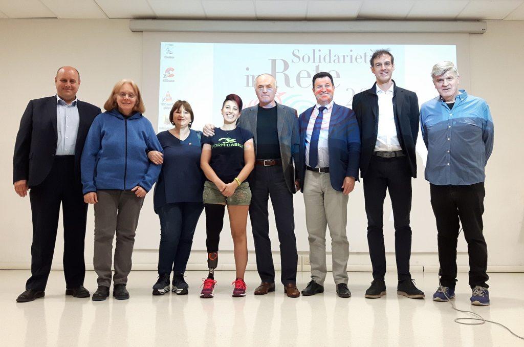 """""""Solidarietà in Rete"""" prende il via con la paralimpica Daniela Pierri"""