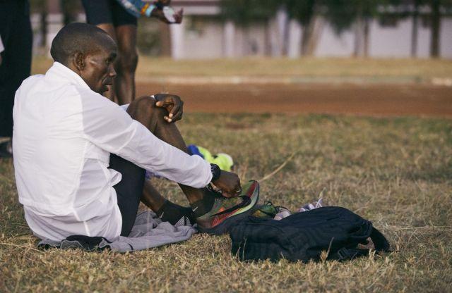 Eliud Kipchoge alla Maratona di Londra a caccia del Record mondiale