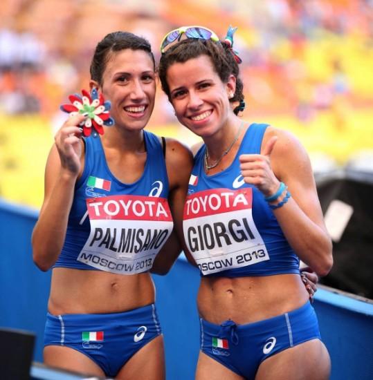 Antonella Palmisano ed Eleonora Giorgi guidano i 19 azzurri per i mondiali di marcia