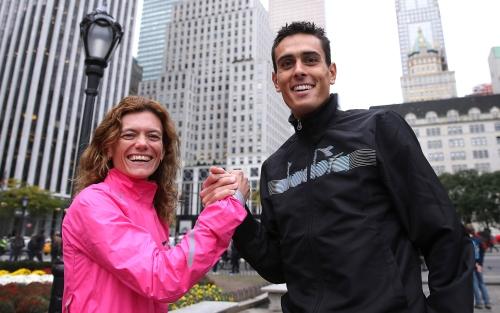 Valeria Straneo e Daniele Meucci guidano i maratoneti azzuri per gli europei di Berlino