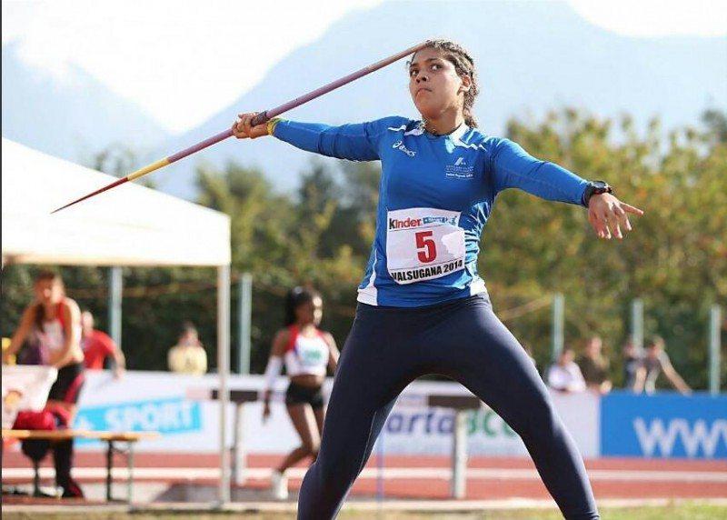 Carolina Visca migliora il record italiano U20 nel giavellotto a Firenze