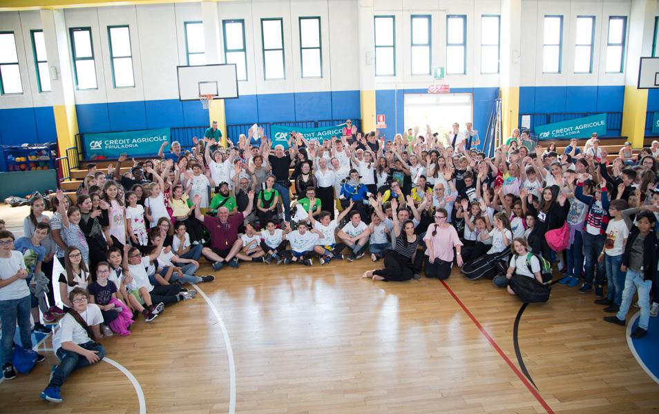 Lo sport che unisce e va oltre ogni barriera nell'appuntamento promosso dall'AICS di Udine nell'ambito della 22^ Giornate di Sport Cultura e Solidarieta'
