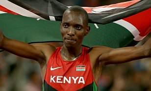 Asbel Kiprop, campione del mondo dei 1500 metri positivo all' Epo