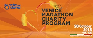 33^ Venicemarathon, riparte il Charity Program!