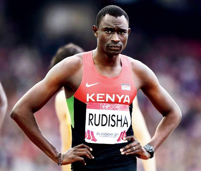 David Rudisha rinuncia agli 800 metri della Diamond League di Shanghai