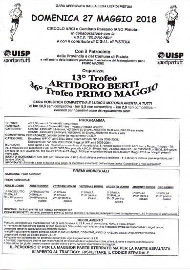 TROFEO ARTIDORO BERTI